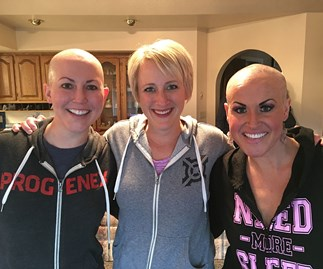 Sisters with cancer