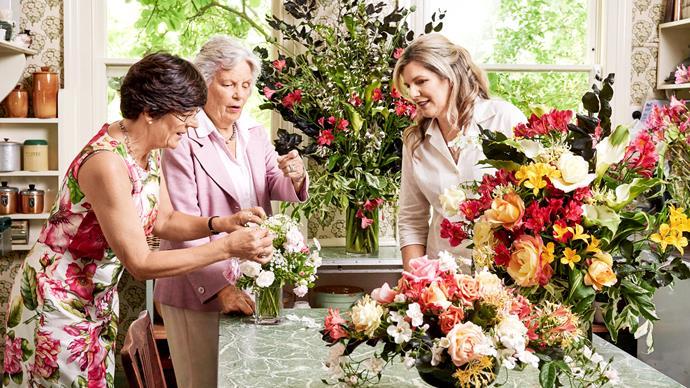 Inside Dame Elisabeth Murdoch's flower garden