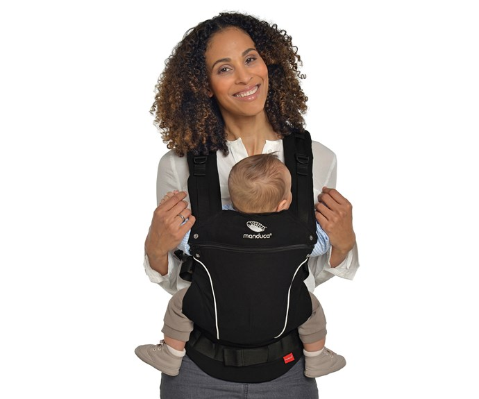 "CATEGORY: MOST POPULAR BABY CARRIER [Manduca Pure Cotton Baby Carrier](http://www.fertilemind.com.au/|target=""_blank""), RRP $199.95. Made from 100% GOTS certified organic cotton, Manduca carries your baby in the position recommended by the International Hip Dysplasia Association and Healthy Hips Australia. Manduca has a three year warranty and a built-in newborn insert."