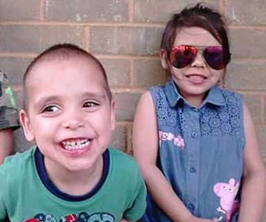 Child protective services visited mum and kids hours before murder