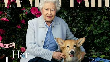 Queen becomes cover girl again at 90