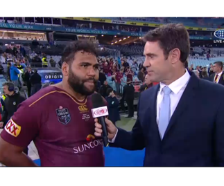 Maroons player Sam Thaiday's controversial post-Origin comment