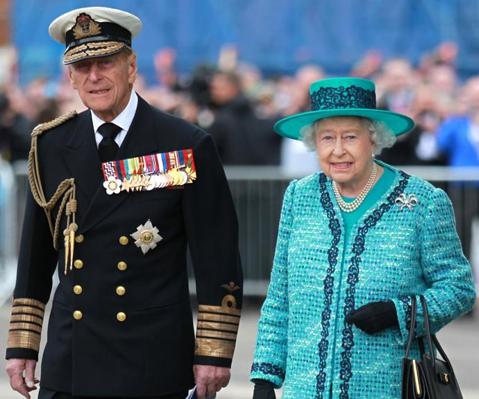 Why the Queen and Prince Philip never hold hands