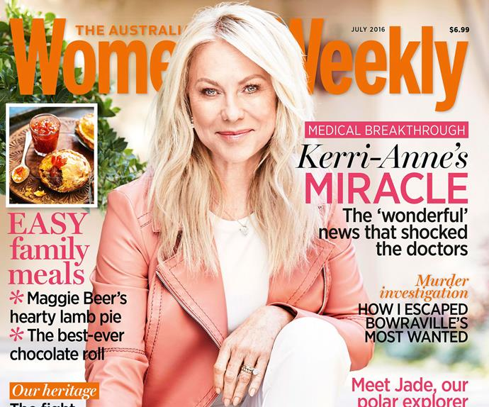 Kerri-Anne's miracle: The news that shocked doctors