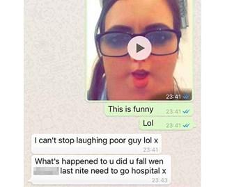 Daughter convinces mum her head is square