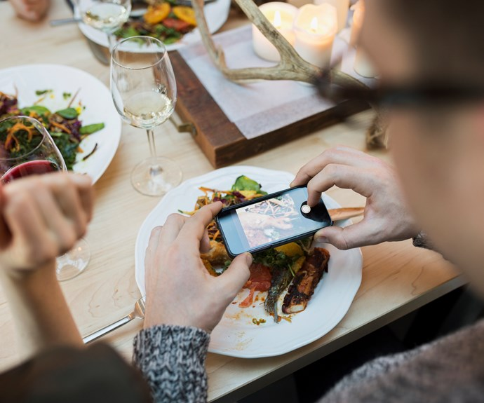Why you should never take photos of food in restaurants