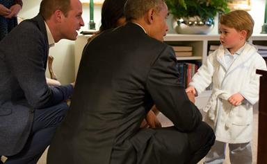 Prince George's dressing gown now available in Australia