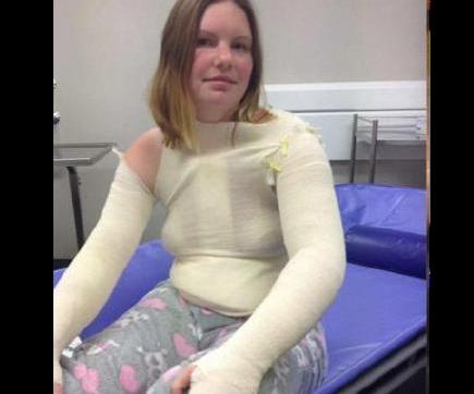 Mum suffers horrific burns as pressure cooker explodes