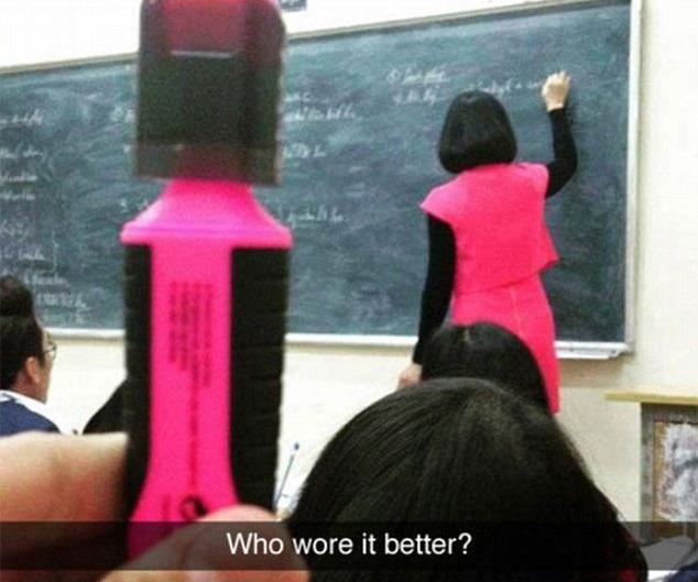 Hilarious Snapchats from around the world