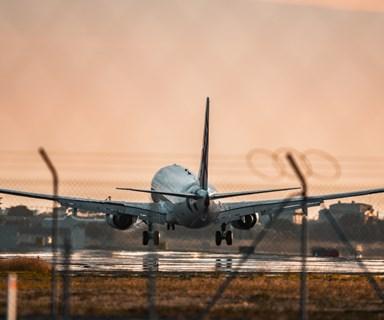 Mobile phone sparks fire on Qantas flight