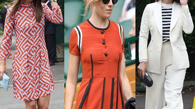 Courtside fashion at Wimbledon