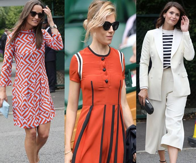 Wimbledon 2016 courtside fashion style