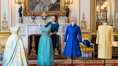 Queen's iconic outfits go on display