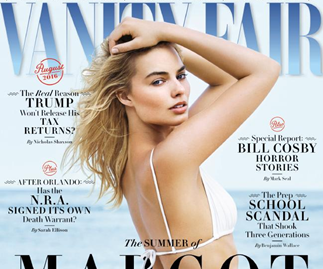 Margot Robbie's Vanity Fair interview labelled sexist and patronising