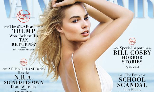 Margot Robbie's Vanity Fair cover interview labelled sexist and patronising