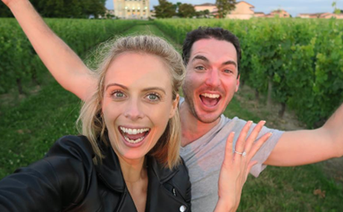 Sylvia Jeffreys and Pete Stefanovic are engaged