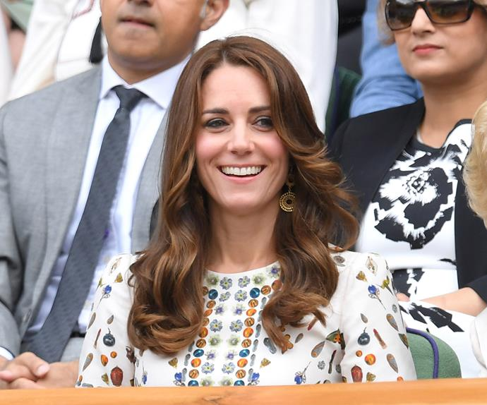 Duchess Kate stuns at Wimbledon