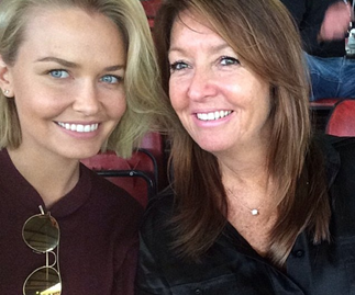 Lara Worthington's mum opens up about star's second pregnancy