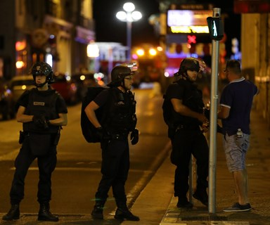 Dozens killed as truck hits crowd in Nice, France