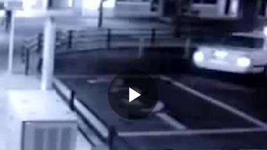 Ghost filmed following man into taxi
