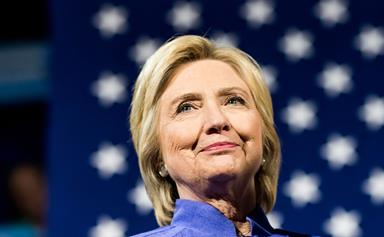The Democratic Party is with her: Hillary Rodham Clinton makes history