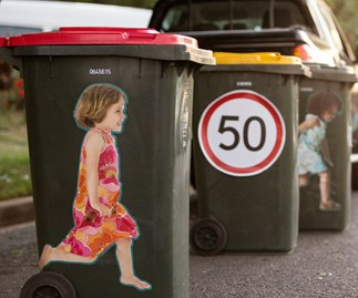 How a $10 wheelie bin sticker could save a life