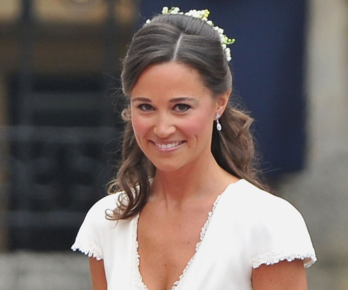 Princess Di's wedding dress designer dishes on Pippa's gown