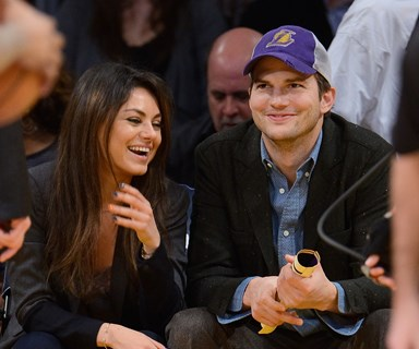 Oops! Ashton Kutcher reveals daughter Wyatt has learned a naughty word
