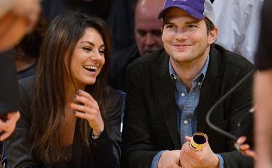 Oops! Ashton Kutcher reveals daughter Wyatt has learned a naughty word