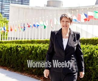 Helen Clark: The former New Zealand PM is ready to lead the world