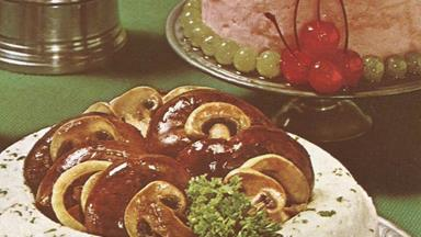 Can you believe this was considered classy cooking in the 70s?