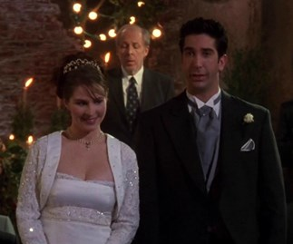 FRIENDS made this big mistake at Ross and Emily's wedding