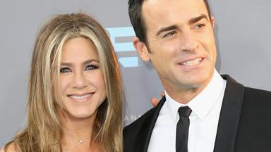 How Jennifer Aniston and Justin Theroux celebrated their first wedding anniversary