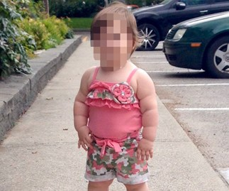 Mum trolled with revolting comments after sharing this photo of her toddler