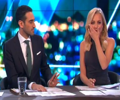 Carrie Bickmore's emotional announcement on The Project