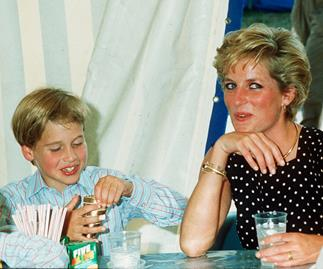 'I miss my mother every day': Prince William comforts boy who lost his mum