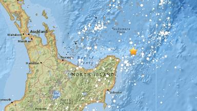 7.1 magnitude earthquakes hits New Zealand