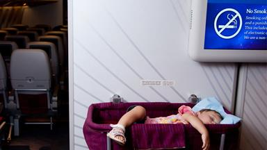 Mum invents device to stop babies crying on planes