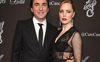 Melissa George and Jean-David Blanc