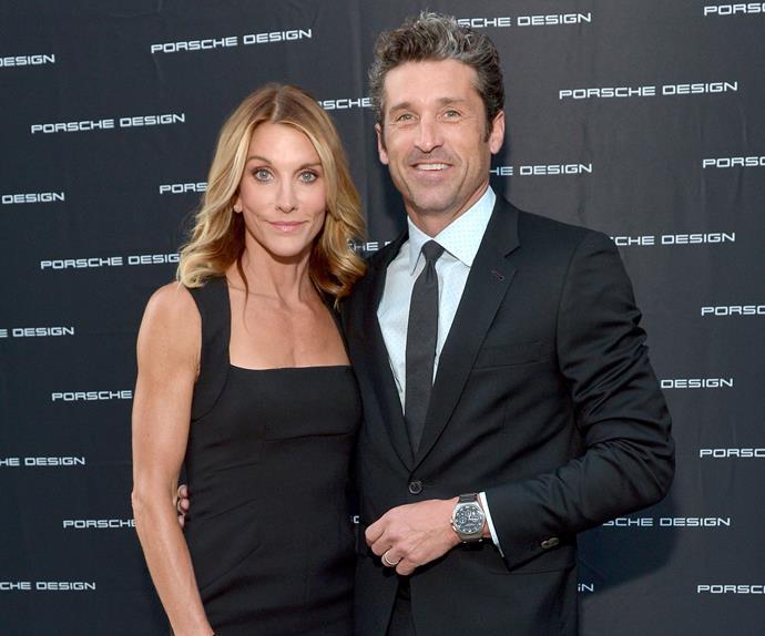 Patrick Dempsey and wife Jillian
