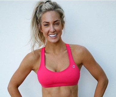 Fitness blogger Ashy Bines is facing more complaints than she can bench-press... again