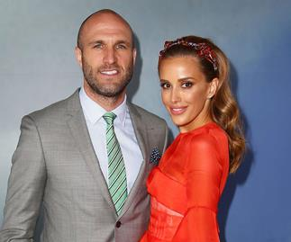 Pregnant Bec Judd says hubby Chris is now her 'personal leg shaver'