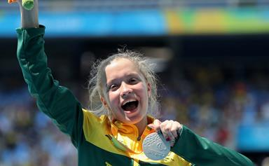 Teen Paralympic medallist capturing the hearts of the nation