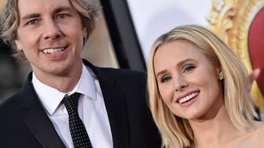 Cheeky Kristen Bell shares rare first photo of her daughter