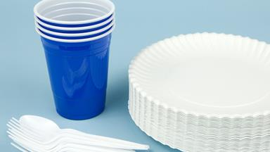 France bans all plastic cups and plates