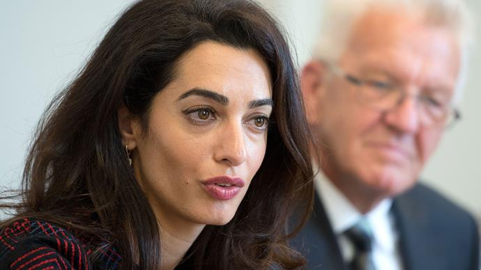 Amal Clooney uses UN debut to slam the body's handling of ISIS sex trafficking