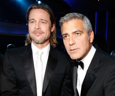 George Clooney reacts to Jolie-Pitt divorce news on live TV