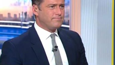 How Karl Stefanovic responds to the Brangelina topic amid his own woes