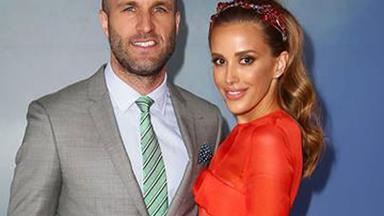 Rebecca and Chris Judd's twins have arrived!