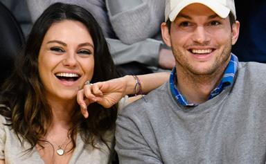 Did Ashton Kutcher just reveal the sex of baby no. 2?